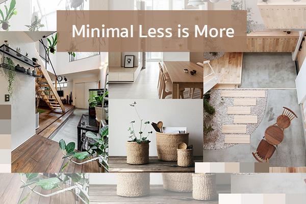 Minimal Less is More Trendy Home แต่งบ้าน ปรับคอนโด